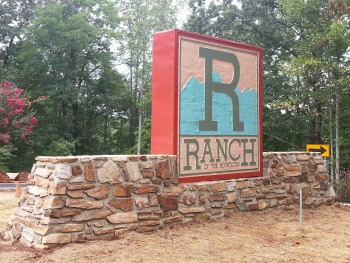 R Ranch Main Entrance