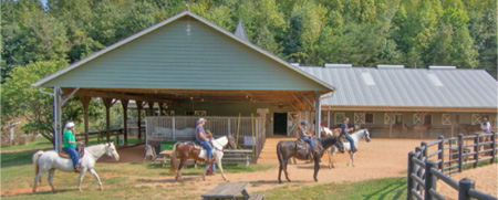 R-Ranch Amenities | Stables & Private Herd